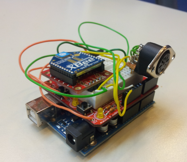 Arduino with components
