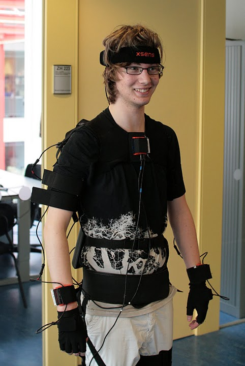 Me in a mocap suit