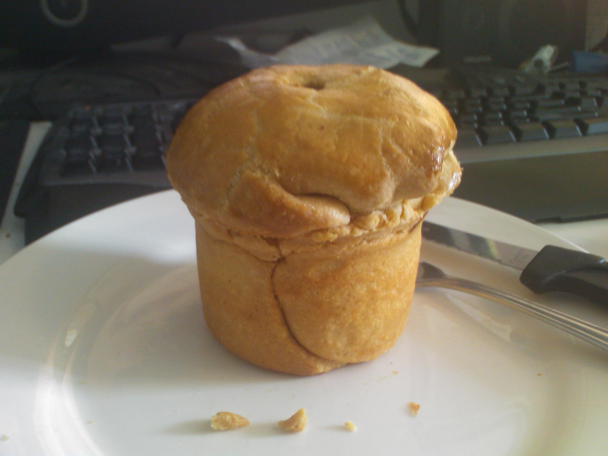My homemade steak pie :D