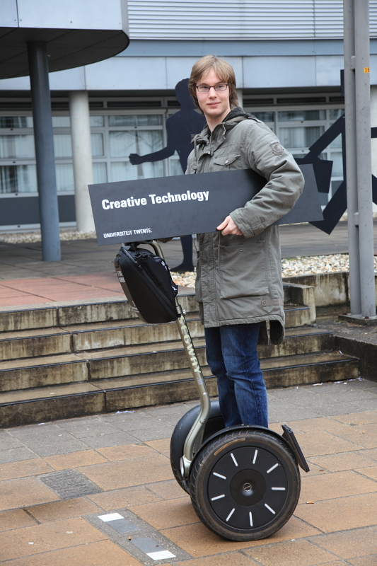I'm on a segway!